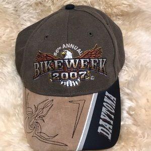 Bike week 2007 one size Daytona hat